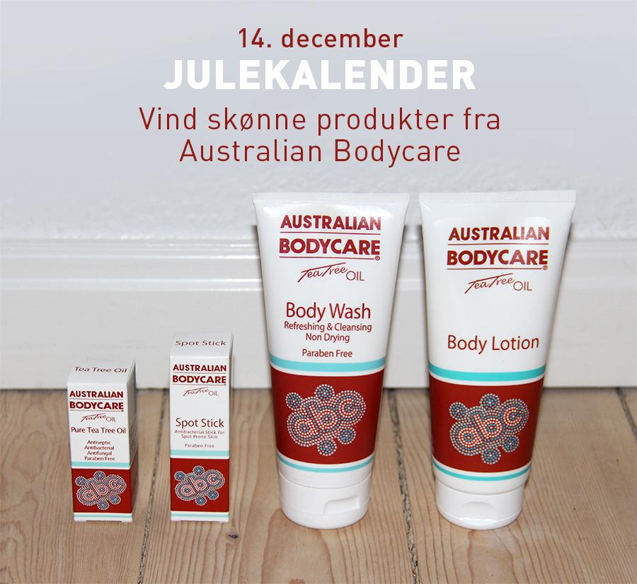 julekalender_australian bodycare_produkter